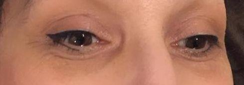 eye liner épais